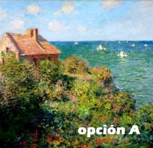 cabaña de Monet