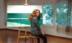 Nathalie frente marina